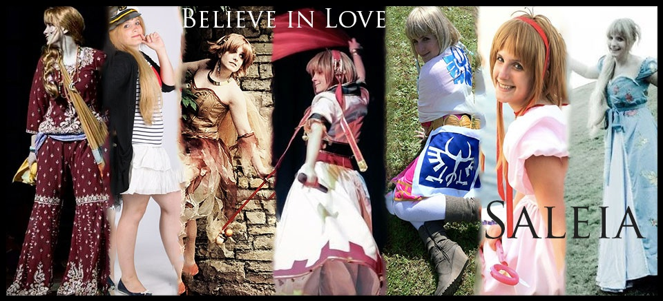 3. Believe in Love - Saleia