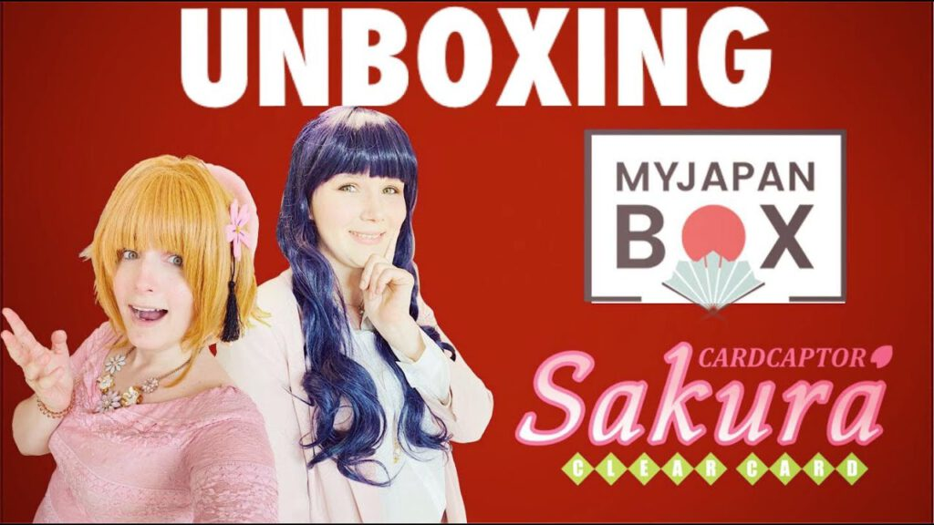 28.06.2020 – UNBOXING // Tomoyo schenkt Sakura eine #MYJAPANBOX #CARDCAPTORSAKURA
