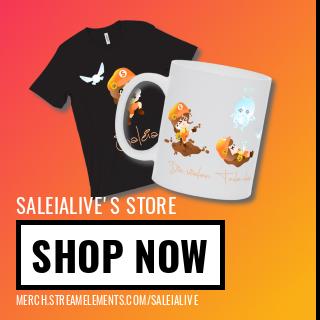 01.03.2021 – Merchandise shop von Saleia