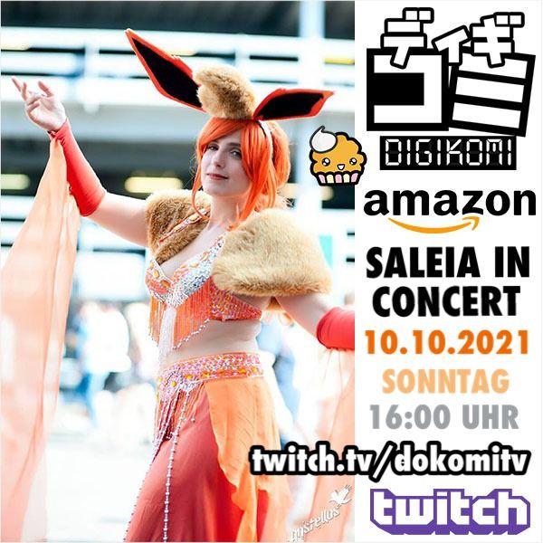 03.10.2021 – Digikomi & Amazon Konzert auf Twitch