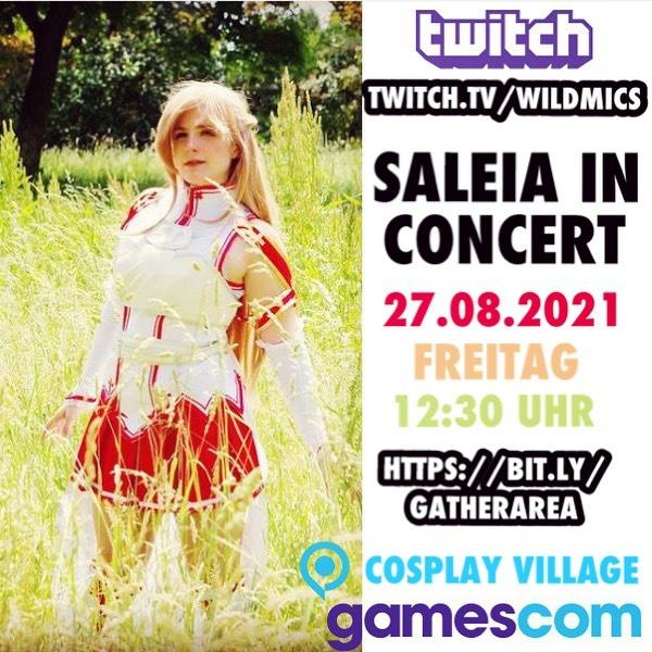26.08.2021 – Gamescom Konzert auf Twitch