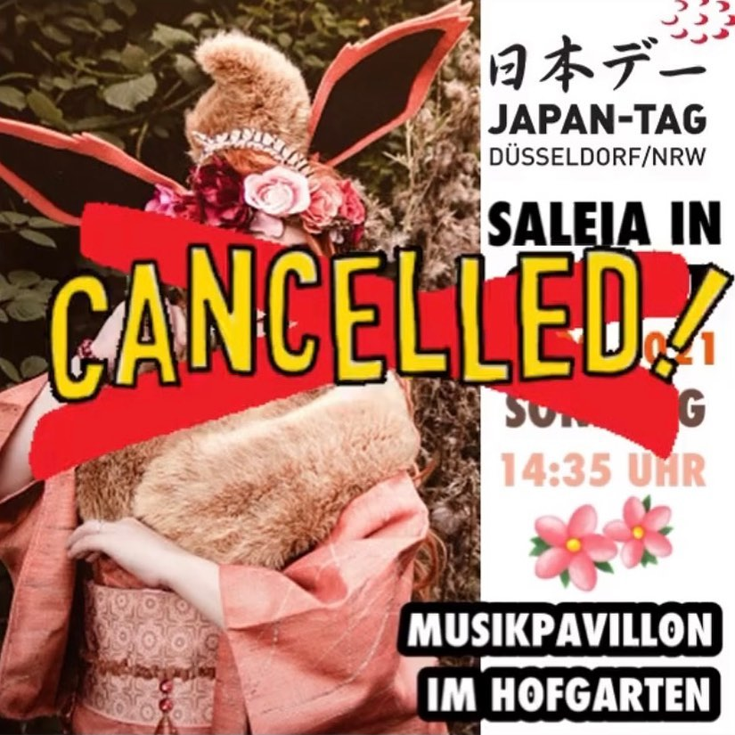 12.09.2021 – Japan-Tag Konzert abgesagt